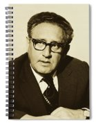 Henry Kissinger 1976 Spiral Notebook