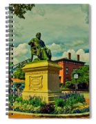 Henry Wadsworth Longfellow Monument - Portland, Maine Spiral Notebook
