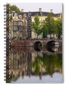 Herengracht Canal. Amsterdam. Netherlands. Europe Spiral Notebook