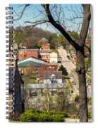 1-hermann Mo Triptych Left_dsc3992 Spiral Notebook