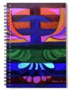 Hexagram Eleven - T'ai Spiral Notebook