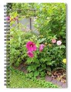 Hibiscus In The Garden Spiral Notebook