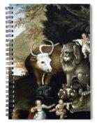 Hicks: Peaceable Kingdom Spiral Notebook