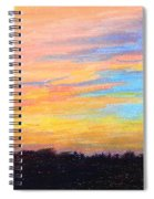 Hill Country Sunrise Spiral Notebook