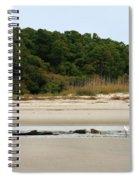 Hilton Head Island Shoreline Spiral Notebook
