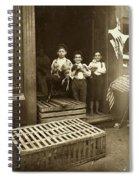 Hine: Child Labor, 1908 Spiral Notebook