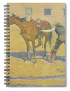 His First Lesson Spiral Notebook