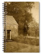 Historic Home - Allaire State Park Spiral Notebook