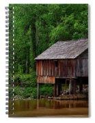 Historic Rikard's Mill - Alabama Spiral Notebook