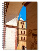 Historic Stone Bell Tower Spiral Notebook