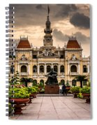 Ho Chi Minh City Hall Spiral Notebook