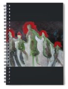 Holding Hands Spiral Notebook
