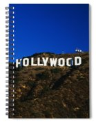 Hollywood Sign Los Angeles Ca Spiral Notebook