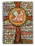 Holy Spirit Prayer By St. Augustine Spiral Notebook