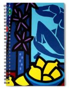 Homage To Matisse I Spiral Notebook