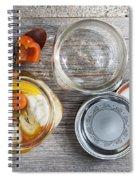 Homemade Preserved Vegetables Spiral Notebook