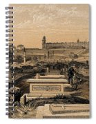 Hospital And Cemetery At Scutari, C.1854 Spiral Notebook