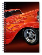 Hot Rod Ford Coupe 1932 Spiral Notebook