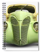 Hot Rod Ford Coupe 1938 Spiral Notebook