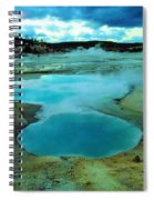 Hot Springs In Yellowstone. Spiral Notebook