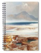 Hot Springs Of The Yellowstone Spiral Notebook