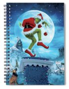 How The Grinch Stole Christmas 2000  Spiral Notebook