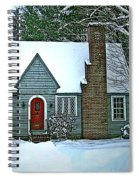 Howland House In Windsor Spiral Notebook
