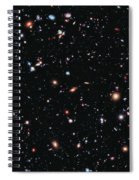 Hubble Extreme Deep Field Spiral Notebook