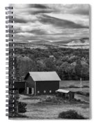 Hudson Valley Ny Fall Colors Spiral Notebook