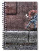 I Heart Ny Street Art 4 Spiral Notebook