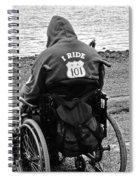 I Ride Spiral Notebook