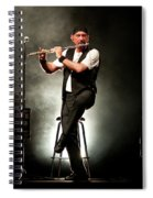 Ian Anderson Of Juthro Tull  Live Concert Spiral Notebook