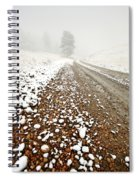 Ice Fog In Cypress Hills Provincial Park Of Saskatchewan Spiral Notebook