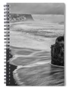 Iceland Seascape Spiral Notebook