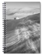 Iceland Winter Spiral Notebook