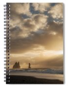 Icelandic Seascape Spiral Notebook