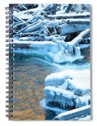 Icy Blue River Spiral Notebook