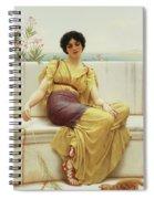 Idleness Spiral Notebook
