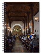 Iglesia Nuestra Senora De La Asuncion Ahuachapan Spiral Notebook