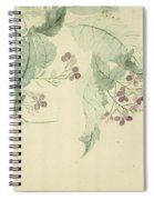 Impatiens Spiral Notebook