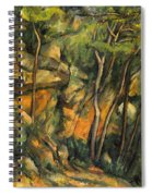 In The Park Of Chateau Noir Spiral Notebook