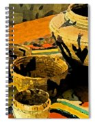 Indian Baskets 2 Spiral Notebook