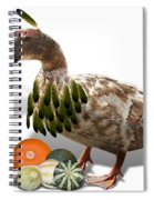Indian Duck Spiral Notebook