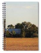 Indiana Farmland  Spiral Notebook