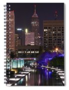 Indianapolis Canal View Spiral Notebook