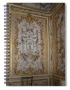 Inside Chantilly Castle France Spiral Notebook