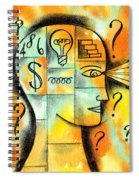 Knowledge And Idea Spiral Notebook