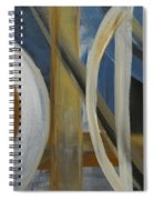 Intersection In Blue 1 Spiral Notebook