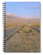 Interstate 15, Near Las Vegas, After Spiral Notebook