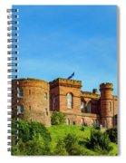 Inverness Castle, Scotland Spiral Notebook
